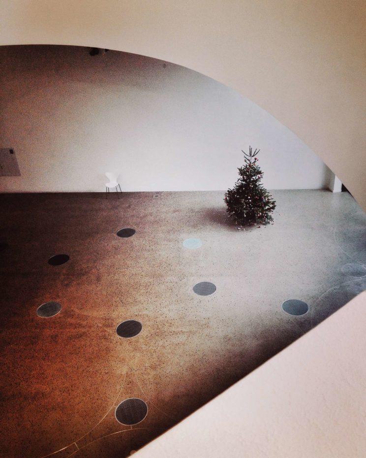 Sprengel Museum Hannover christmastree